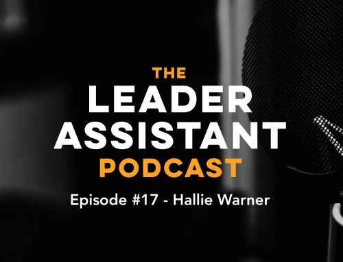 Ep #17: Hallie Warner on the Chief of Staff Role, Working Too Much, and Writing a Book