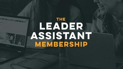 Monthly online group coaching leader assistant membership