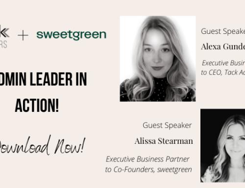 Ep 130: Alissa Stearman (Executive Business Partner at sweetgreen) and Alexa Gundermann (Executive Business Partner at Tack Advisors)
